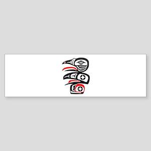 THE PROGRESSION Bumper Sticker