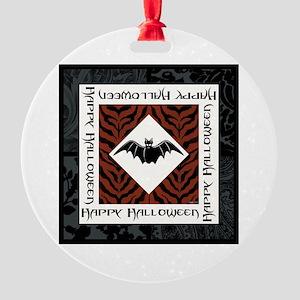 GOING BATTY! Round Ornament
