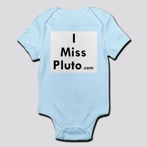 I Miss Pluto Infant Creeper