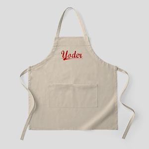 Yoder, Vintage Red Apron