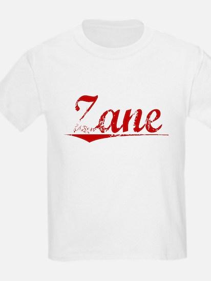 Zane, Vintage Red T-Shirt