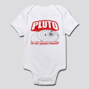Pluto is my Home Planet Infant Creeper
