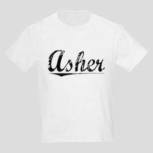 Asher, Vintage Kids Light T-Shirt