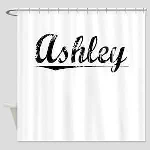 Ashley, Vintage Shower Curtain