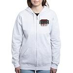 MMA gothic teeshirt Women's Zip Hoodie