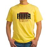 MMA gothic teeshirt Yellow T-Shirt