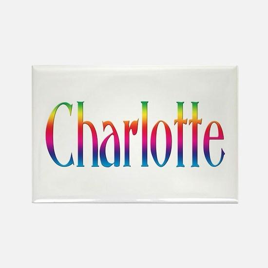 Charlotte Rectangle Magnet (100 pack)