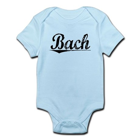 Bach, Vintage Infant Bodysuit