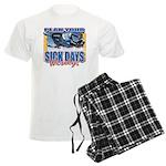 Plan Your Sick Days Wisely Men's Light Pajamas