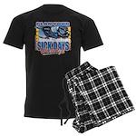 Plan Your Sick Days Wisely Men's Dark Pajamas