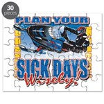 Plan Your Sick Days Wisely Puzzle