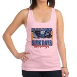 Plan Your Sick Days Wisely Racerback Tank Top