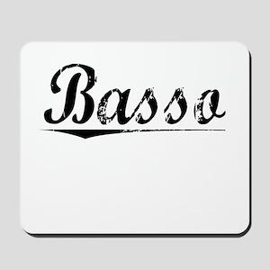Basso, Vintage Mousepad
