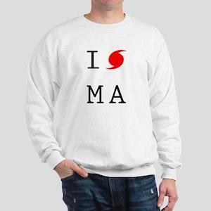 Hurricane Sandy Massachusetts Sweatshirt