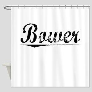 Bower, Vintage Shower Curtain