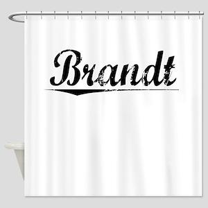 Brandt, Vintage Shower Curtain