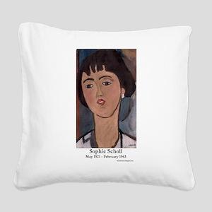 Modigliani Square Canvas Pillow