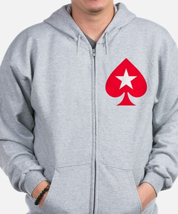 PokerStars Christmas Star Zip Hoodie