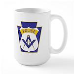Masonic Police Officers Large Mug
