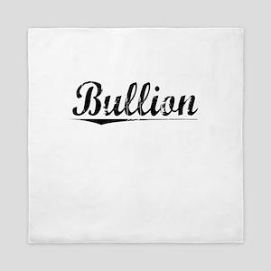 Bullion, Vintage Queen Duvet