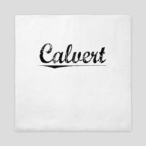 Calvert, Vintage Queen Duvet