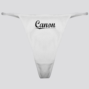 Canon, Vintage Classic Thong
