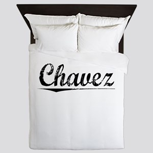 Chavez, Vintage Queen Duvet