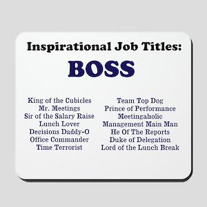 Man Boss Funny Job Titles Amp Names Gifts Cafepress