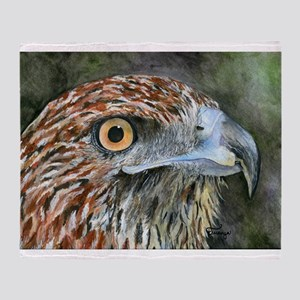 Red Tail Hawk Throw Blanket