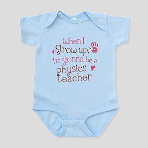 Future Physics Teacher Infant Bodysuit