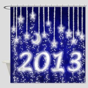 Star Dust 2013 Shower Curtain