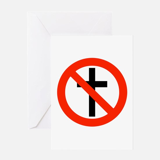 No Religion Greeting Card