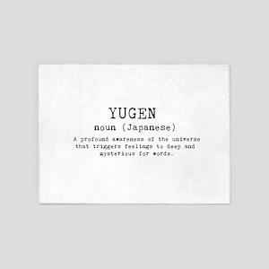 YUGEN 5'x7'Area Rug