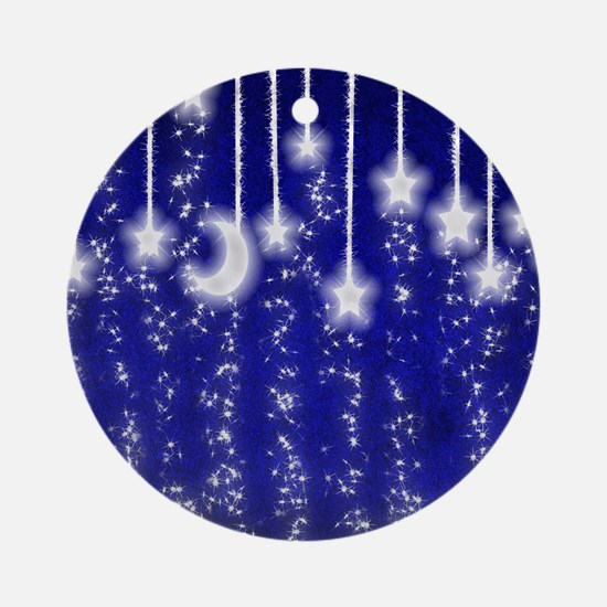 Star Dust Ornament (Round)