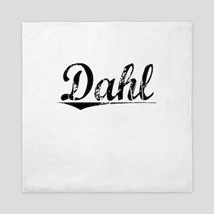 Dahl, Vintage Queen Duvet