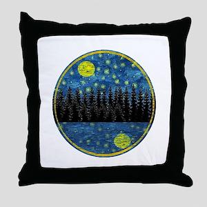 LOVELY NIGHT Throw Pillow