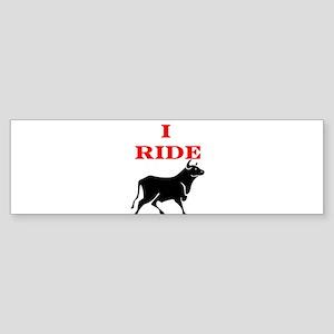 Ride Bull Sticker (Bumper)