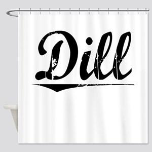 Dill, Vintage Shower Curtain