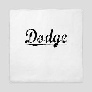 Dodge, Vintage Queen Duvet