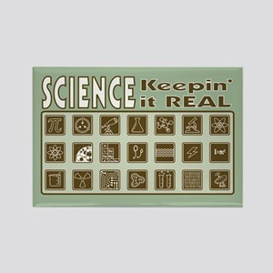 Science Keepin' it REAL Magnet