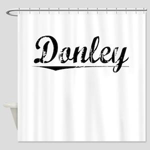 Donley, Vintage Shower Curtain