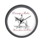 Dressage Wall Clock