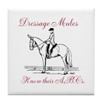 Dressage Tile Coaster
