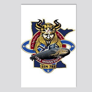 USS Minnesota SSN 783 Postcards (Package of 8)