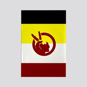 American Indian Movement Rectangle Magnet