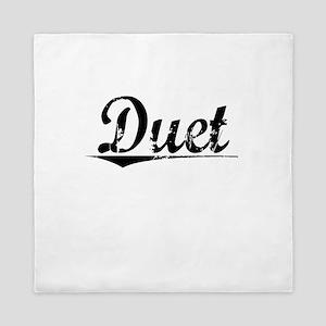 Duet, Vintage Queen Duvet