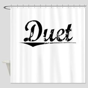Duet, Vintage Shower Curtain