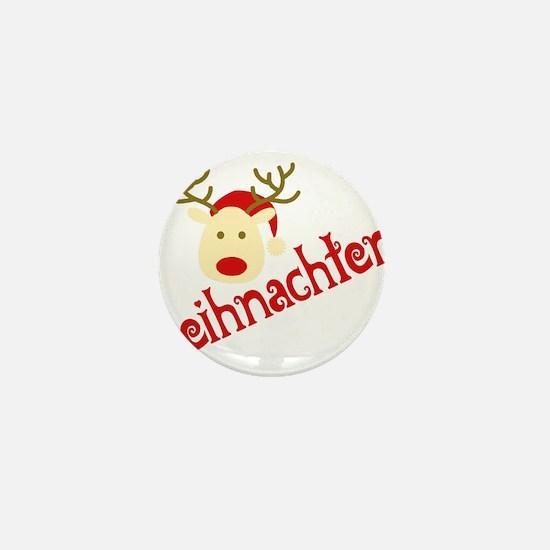 Unique December Mini Button