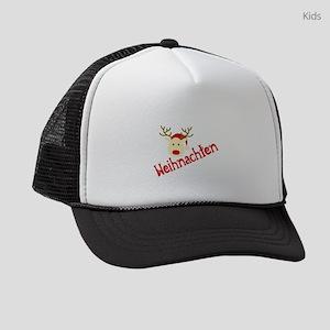 german christmas Kids Trucker hat