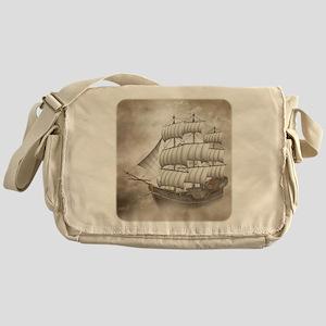 Cloud Ship Messenger Bag